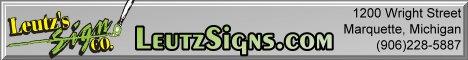 Leutz Signs 1200 Wright Street Marquette MI