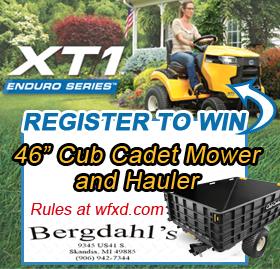 Win a Cub Cadet Mower & Hauler