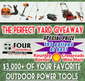 Win a 9 piece Outdoor Power Tool Set