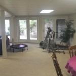 Basement- a roomy basement living quarters