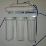 Basement - reverse osmosis water system for prestine non-chlorine tasting water
