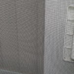 Deck - a better quality screen door which doesn't come off its tracks like a Menard's door