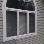 Deck - lush window over master bath