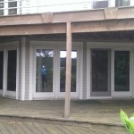Deck - upper and lower deck on walk out basement living area