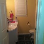Entry - main level bathroom