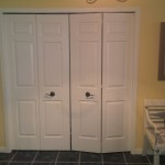 Entry - walk in closet in entrance that is deep enough for a washer dryer to be installed on main floor