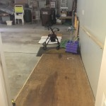 Garage - installed 10 foot ramp for easy No Step access