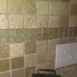 Kitchen - good quality back splash which was updated recently