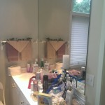 Master - roomy master sink and mirror