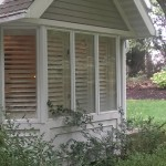 Yard - Office Bay Window on West side of home by Entrance