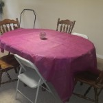 basement - table and chairs for cards or grand kids downstairs