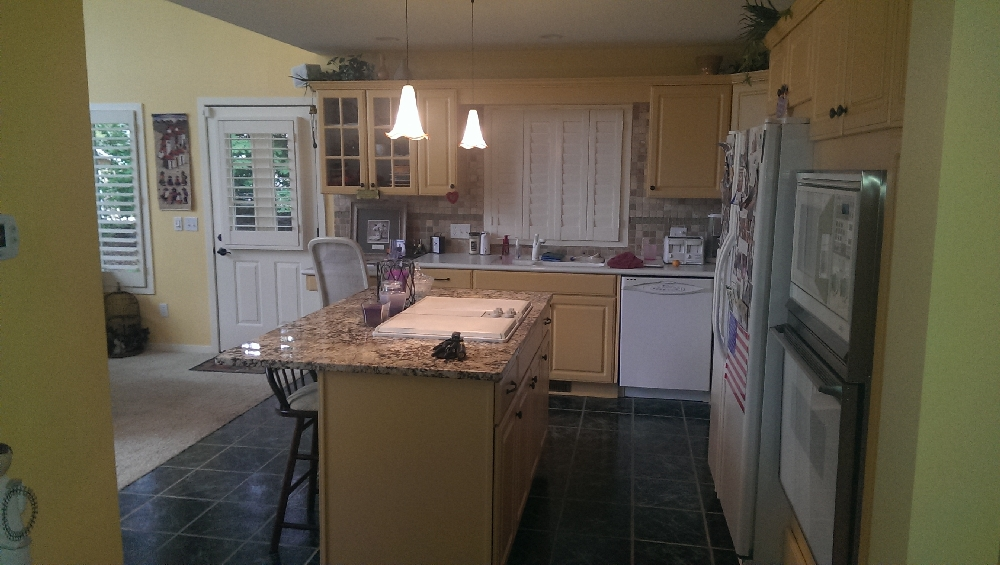 kitchen area was all updated recently