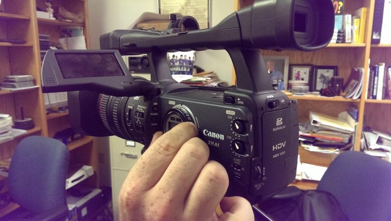 Canon XHG1/XHA1 HD Camera