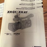 Canon XHG1/XHA1 HD Camera Manual